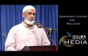 Democracy system and Religion (Jb, Mohammed Atharulla Sharief)
